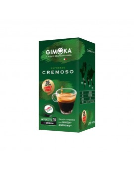 Gimoka CREMOSO - 36 Capsule...
