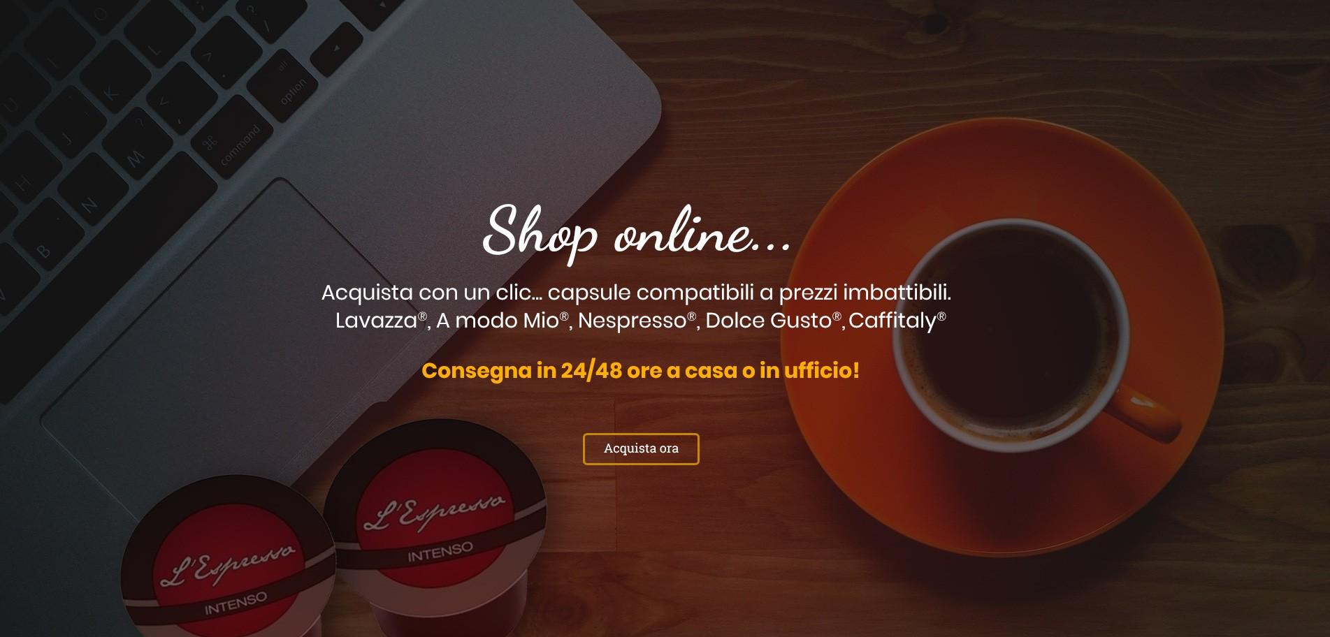 Shop online - Sprint Caffè